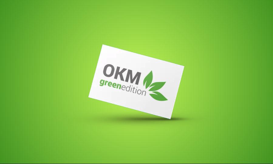 OKM Green Edition Logo Gestaltung
