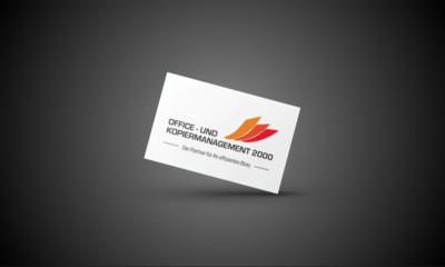 Office- und Kopiermanagement 2000 Logo Gestaltung