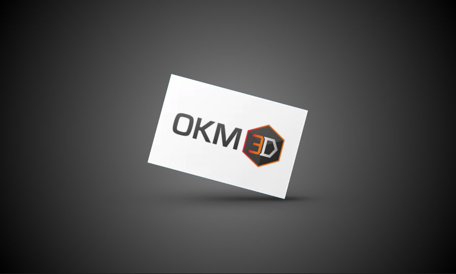 OKM 3D Logo Gestaltung
