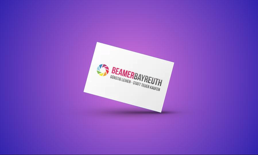 Beamer Bayreuth Logo Gestaltung