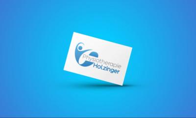Physiotherapie Holzinger Eckersdorf Logo Gestaltung