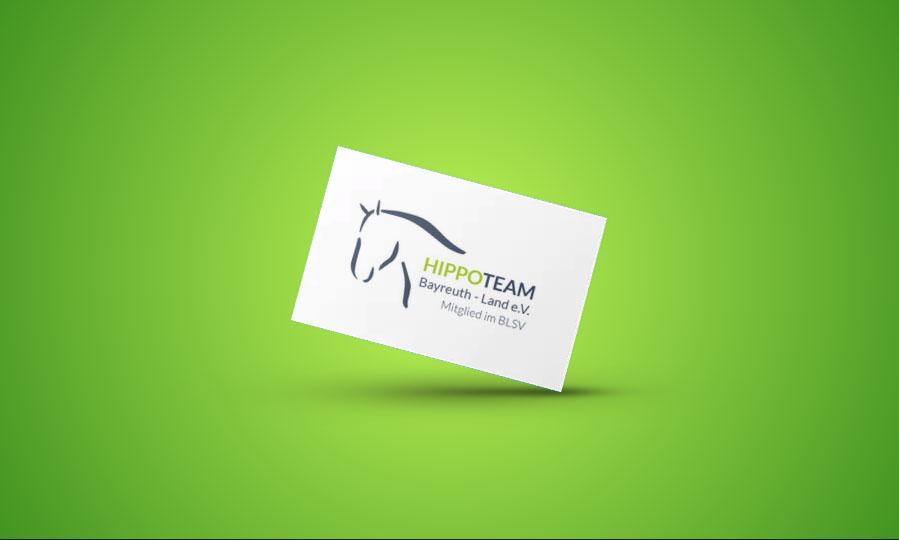 Hippoteam Bayreuth - Land e.V. Logo Gestaltung