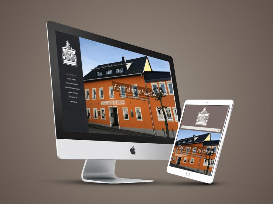 Gasthof zum Waldstein Website Gestaltung