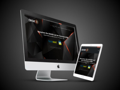 OKM 3D Website Gestaltung